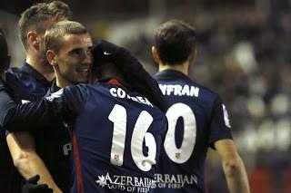 Rayo Vallecano 0-Atlético Madrid 2. Jornada 17 Liga Española