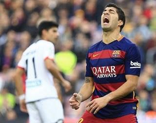 Barcelona 2-Deportivo la Coruña 2. Jornada 15 Liga Española luis suarez