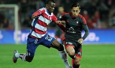 Granada 0-Celta de Vigo 2. Jornada 16 Liga Española
