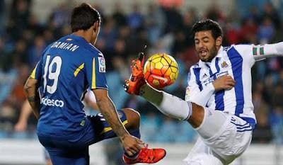 Getafe 1-Real Sociedad 1. Jornada 15 Liga Española