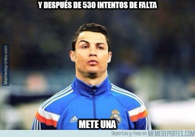 Los memes graciosos del Shakhtar-Real Madrid: Champions 2015 cristiano ronaldo gol tiro libre