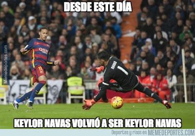Los mejores memes del Villarreal-Real Madrid: Jornada 15 neymar