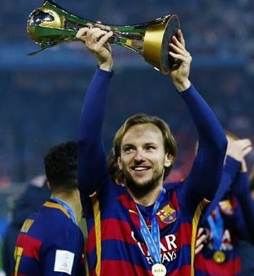 El Barça festeja el Mundial de Clubes en Instagram rakitic
