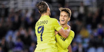 Real Sociedad 0-Villarreal 2. Jornada 16 Liga Española
