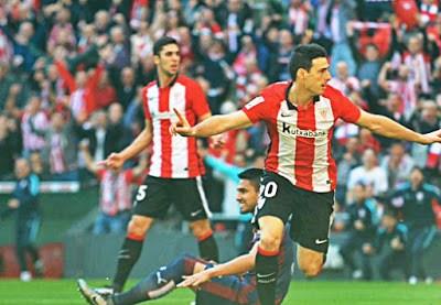Athletic Bilbao 5-Eibar 2. Jornada 21 Liga Española aduriz