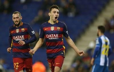 Espanyol 0-Barcelona 2. Octavos Copa del Rey (vuelta) Munir El Haddadi