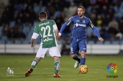 Getafe 1-Betis 0. Jornada 19 Liga Española