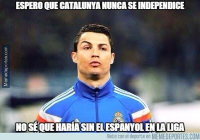 Los mejores memes del Real Madrid-Espanyol: Jornada 22 cristiano