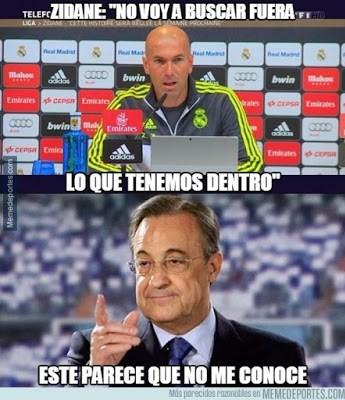 Los mejores memes del Betis-Real Madrid: Jornada 21 zidane