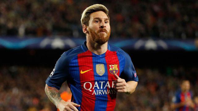 Messi pibe de Oro