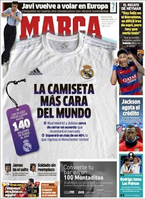 Portada Marca: la camiseta más cara del mundo