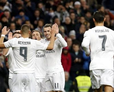 Real Madrid 5-Deportivo la Coruña 0. Jornada 19 Liga Española