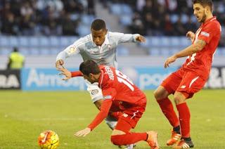 Celta de Vigo 1-Sevilla 1. Jornada 23 Liga Española