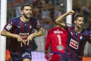 Eibar 2-Levante 0. Jornada 24 Liga Española