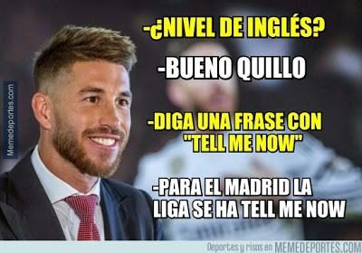 Los memes del Barcelona-Sevilla más divertidos. Liga BBVA tell mi now sergio ramos