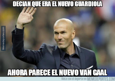 Los memes del Real Madrid-Atlético más divertidos. Liga BBVA zidane