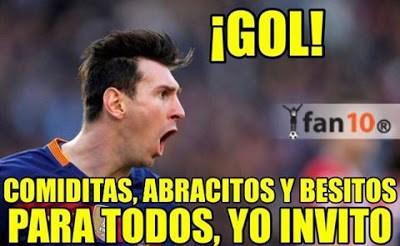 Los memes del Sporting-Barcelona más divertidos. Liga BBVA comiditas abracitos y besitos