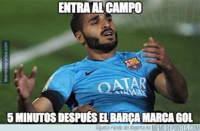 Los mejores memes del Valencia-Barcelona: Copa del Rey douglas