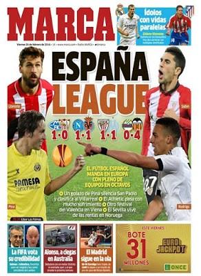 Portada Marca: España League