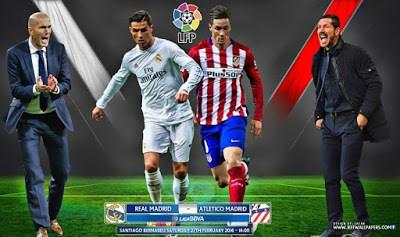 Alineación y previa Real Madrid-Atético. Jornada 26