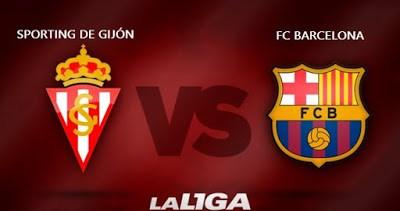 Alineación y previa Sporting-Barcelona. Jornada 16