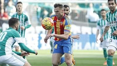 Betis 1-Valencia 0. Jornada 23 Liga Española
