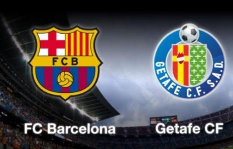 Alineación y previa Barcelona-Getafe. Jornada 29