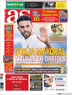 Portada AS: Borja Mayoral