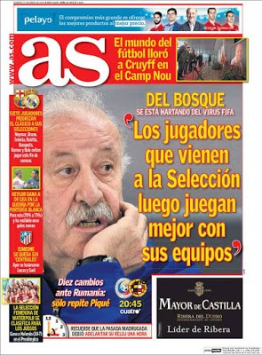 Portada AS: Del Bosque