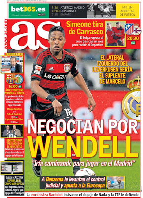 Portada As: Wendell