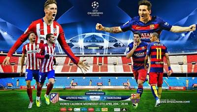 Atlético Madrid-Barcelona: alineación y previa. Cuartos Champions 2016 (vuelta)