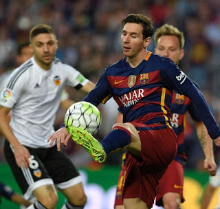 Barcelona 1-Valencia 2. Jornada 33 Liga  Española