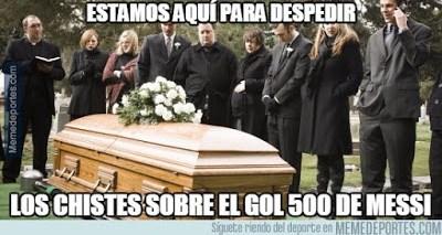Los memes del Barcelona-Valencia más divertidos. Liga BBVA gol 500 messi