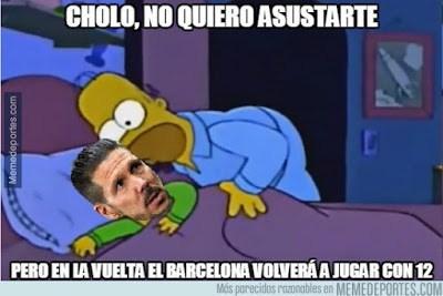 Los memes del Barcelona-Atlético Madrid más divertidos: Cuartos Champions