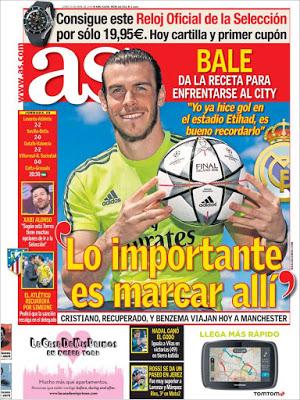 Portada AS: Bale