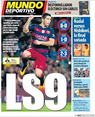 Portada Mundo Deportivo: LS9