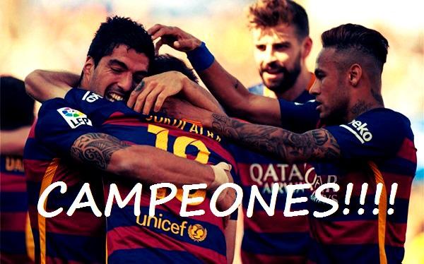 Barcelona Campeón 2016
