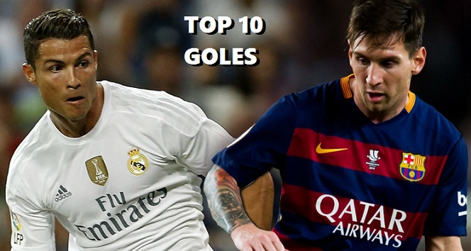Cristiano Ronaldo vs. Leo Messi: Top 10 goles
