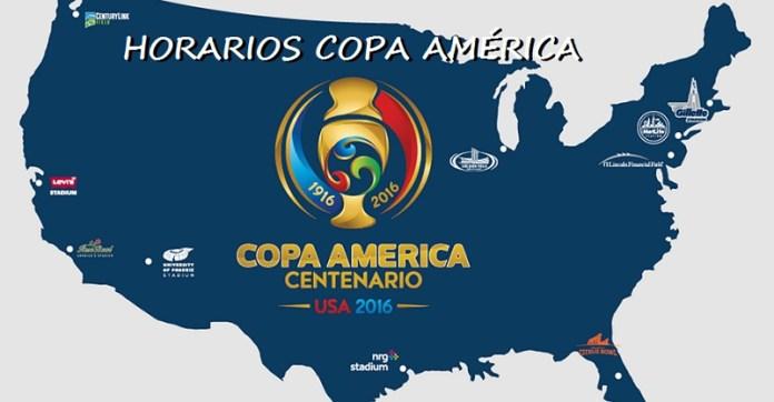 horarios copa america 2016
