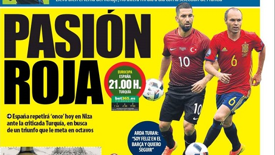 EspañaTurquia Eurocopa
