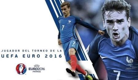 Mejor jugador de la Eurocopa (MVP): Griezmann