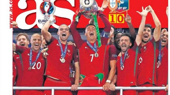 portugal Campeón Eurocopa 2016