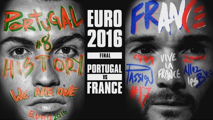 Portugal Francia Eurocopa