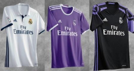 Equipación Real Madrid 2016-2017