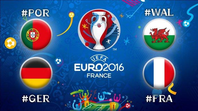 Semifinales Eurocopa 2016