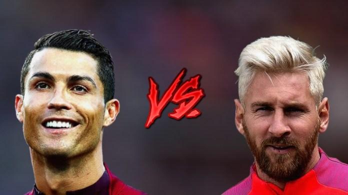 Cristiano Ronaldo Leo Messi 2017