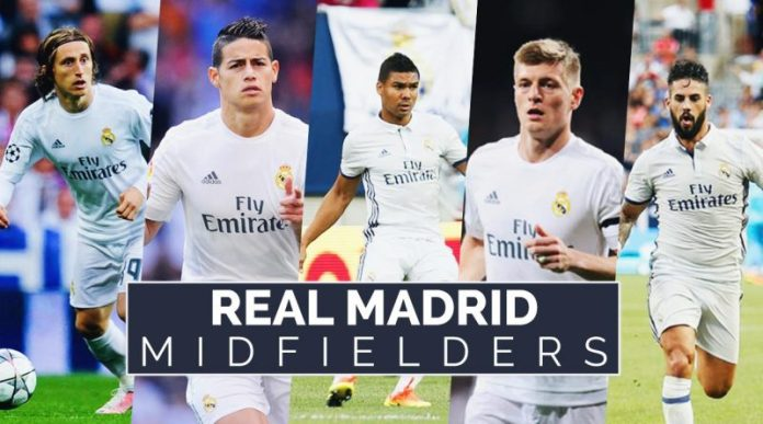 Real Madrid Centrocampistas 2016