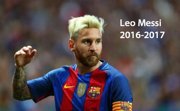 Leo Messi 2016 2017