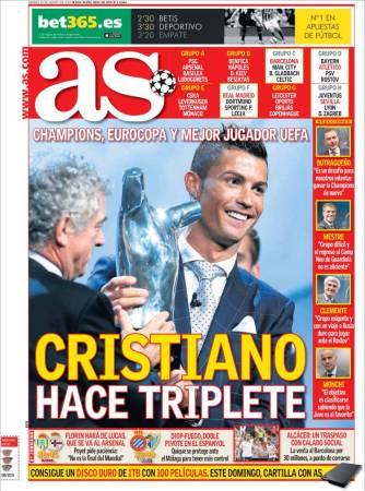 portada-as-triplete-cristiano-uefa-best-player-2016