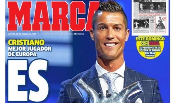Cristiano Ronaldo Rey de Europa